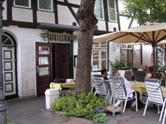 Eckernförde, Deutschland: In der Fußgängerzone gelegen