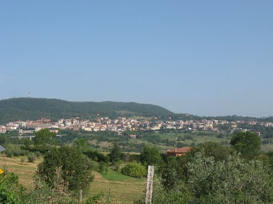Hotel Perugina: Panoramica su Chianciano Terme