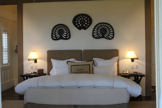 The Farm at Cape Kidnappers : The cofy bed