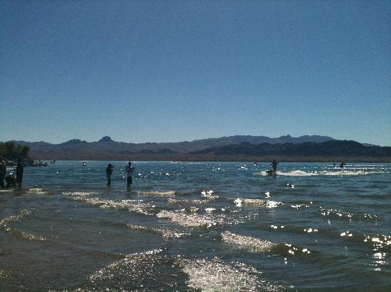 Lake Havasu City, AZ: Body Beach-Havasu octobre 2010