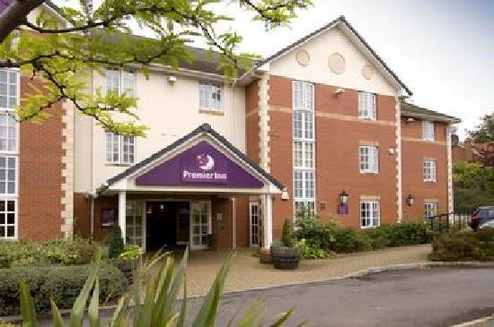 Premier Inn Leicester Central (A50) Hotel: Front aspect of the hotel