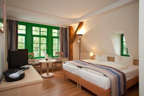 Gutshaus Am Schloss Klink: Zimmer