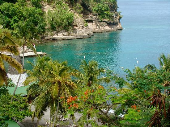 Anse Chastanet: sea view
