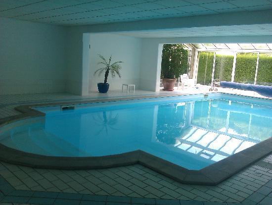 Hostellerie du Vieux Moulin: piscine entretien moyen
