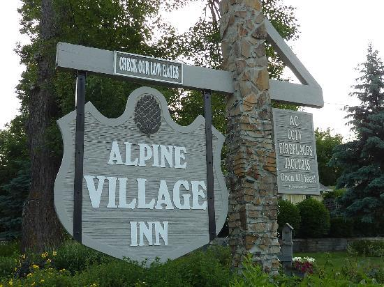 Entry to Alpine Village Inn