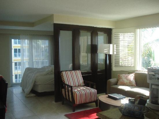 Wyndham Sea Gardens: our studio room
