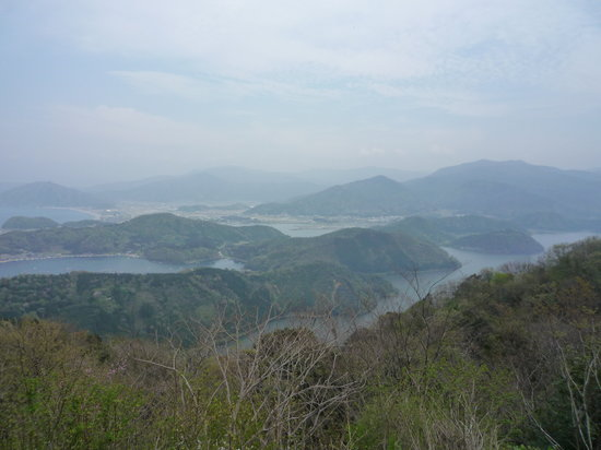 Fukui Prefecture, Japan: 展望台からの眺め