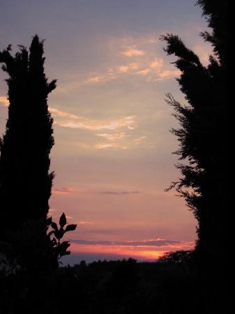 Monteborgo: Abendstimmung