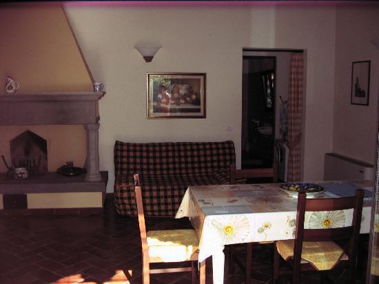 Monteborgo: Wohnraum/Küche