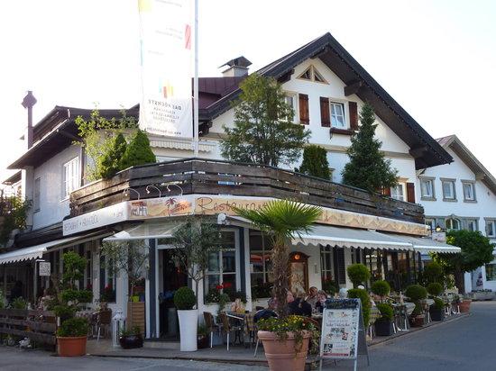 Oberstdorf, Germany: Außenansicht des Restaurants