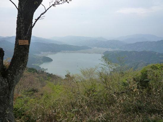 Nagahama, اليابان: 賤ヶ岳から