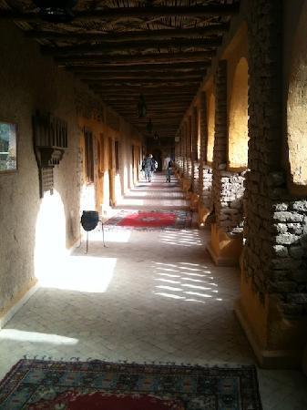 Bivouacs La Belle Etoile: Xaluca courtyard