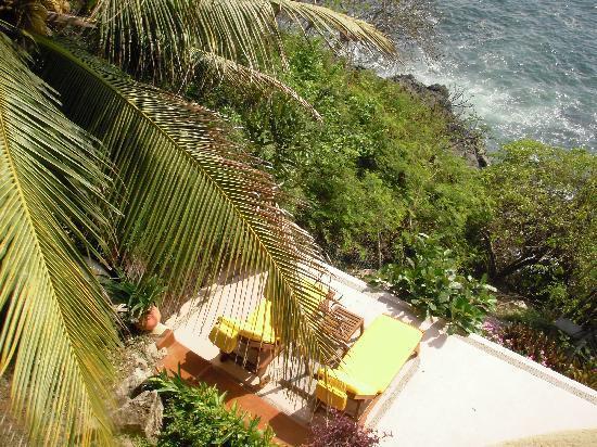 Villa Guadalupe Hotel: view