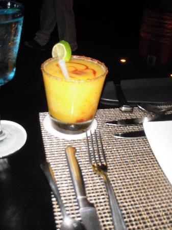Villa Guadalupe Hotel: Mango Margarita!
