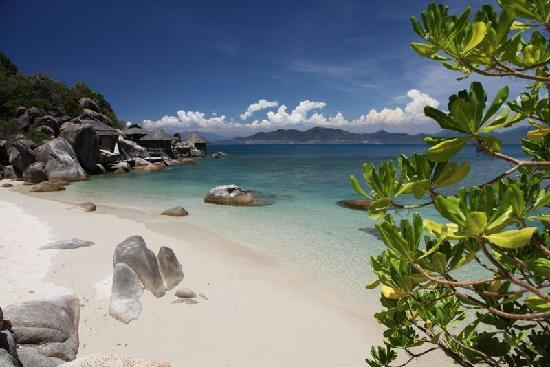 Six Senses Ninh Van Bay: The water is stunning