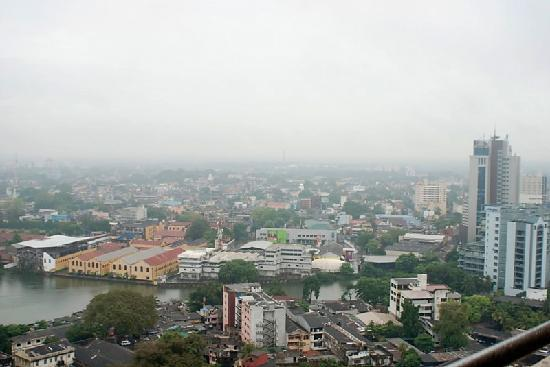 Hilton Colombo Residences: city view from balcony