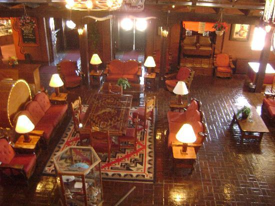 El Rancho Hotel & Motel: The lobby