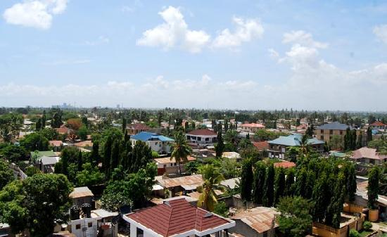 Safina Hotel & Apartments: Fantastic views over Dar Es Salaam