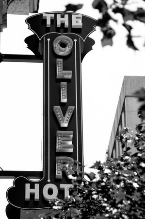 The Oliver Hotel: Hotel Sign