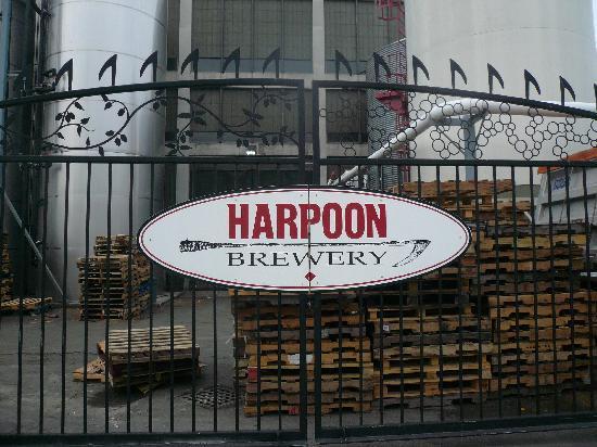 Harpoon Brewery & Beer Hall: Harpoon Brewery