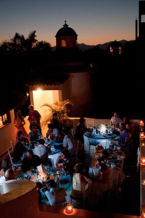 Casa Cielito Lindo Bed & Breakfast: Dinner and Dancing under the stars