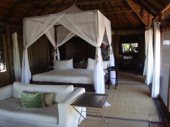 Wilderness Safaris King's Pool Camp: Room 1