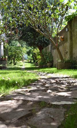 Hotel Amandi: Jardín del Hotel