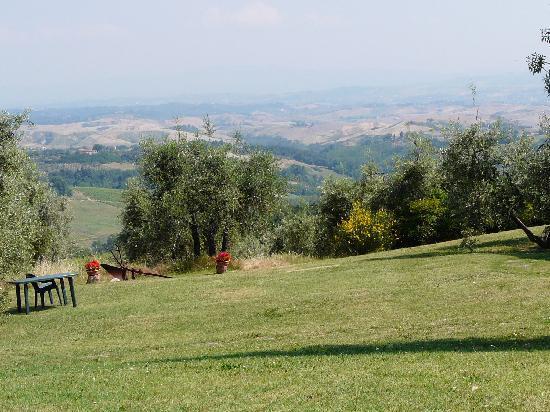 Rigone in Chianti : Ausblick