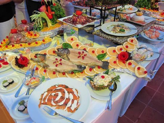 Club Med Palmiye: Exemple de buffet