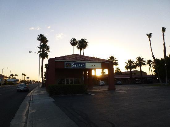 BEST WESTERN Sahara: vue motel