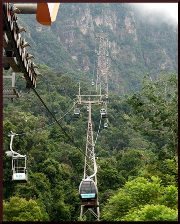 Langkawi, Malezja: The cable cars