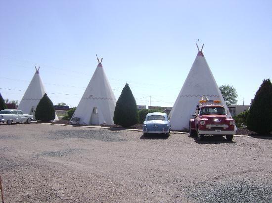 Wigwam Motel: wigwams
