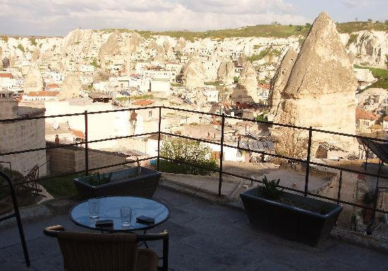 Aydinli Cave Hotel: View from our private balcony