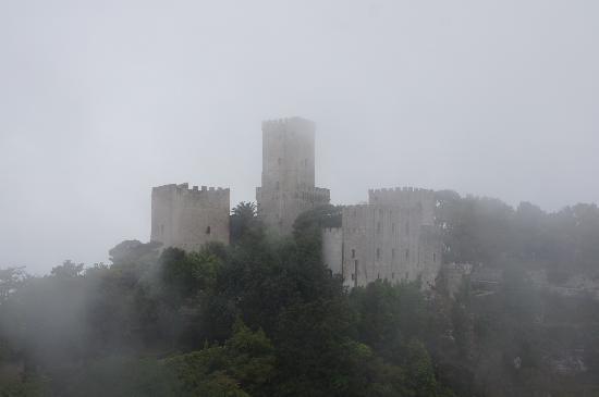 Erice, die normanische Burg