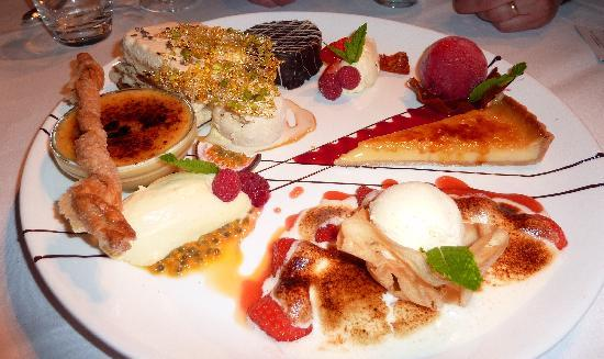 Two Fat Ladies at the Buttery : Grand dessert