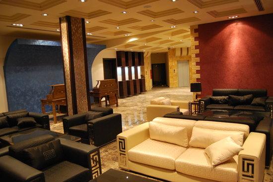 Petra Moon Hotel: lobby