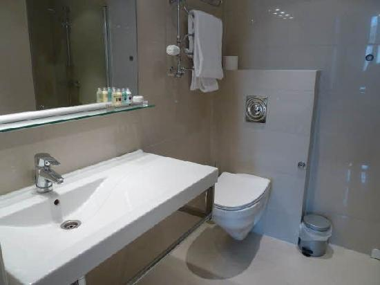 Myhregaarden Hotel: Bathroom