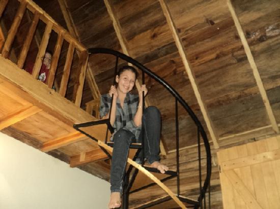 Boquete Tree Trek Mountain Resort: ¡Los Niños en el Loft!