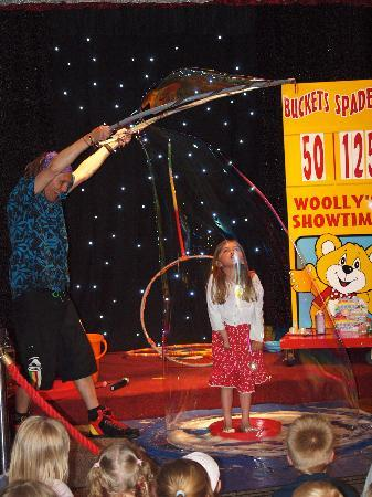 Woolacombe Sands Holiday Park: My daughter taking part in children's entertainment