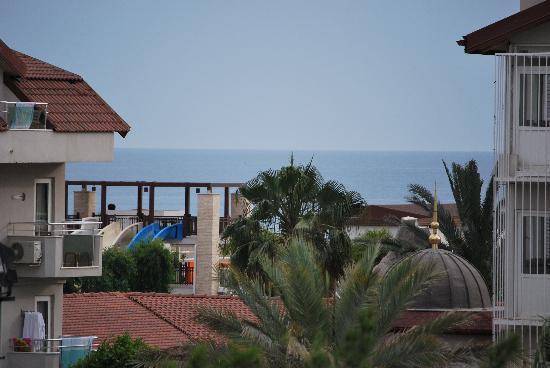 Hotel Monachus & spa: Utsikt från vårt hotellrum
