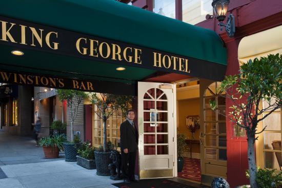 King George Hotel: Front Door
