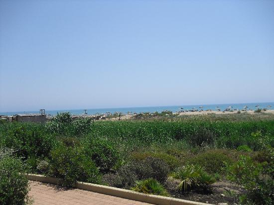 Eden Village Sikania Resort & SPA : spiaggia vista dalle camere fronte mare
