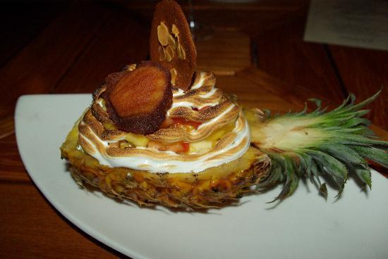 Manava Beach Resort & Spa - Moorea: un dessert en 1/2 pension
