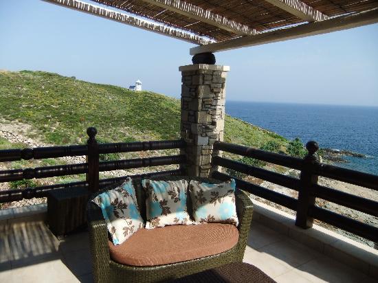 Toxotis Villas: View from balcony