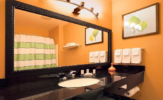 Fairfield Inn & Suites Santa Rosa Sebastopol: Guestroom vanity area
