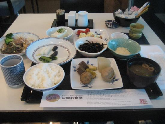 Hotel Ryumeikan Tokyo: 和定食