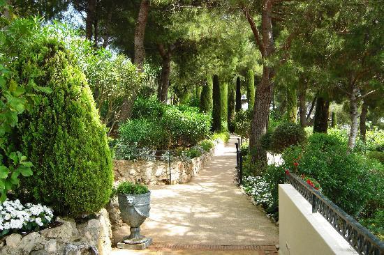 Grand-Hotel du Cap-Ferrat : Gardens at Grand Hotel du Cap Ferrat
