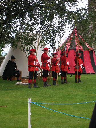 Re-enactment at Stirling Castle