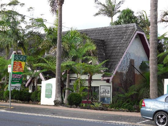 Tamborine Mountain, Australië: Shop and Cafe in Gallery Walk, Eagle Heights