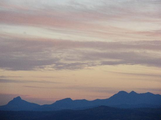 "Tamborine Mountain, Australia: The ""Scenic Rim"" just prior to sunset - taken from the slopes of Mt Tamborine"
